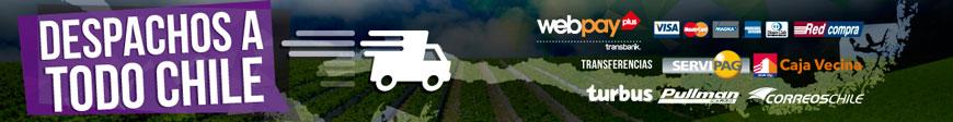 Despachos a todo Chile la juana Growshop